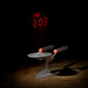 Star Trek Enterprise Projection Clock