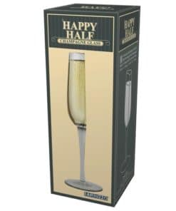 Half Champagne Glass