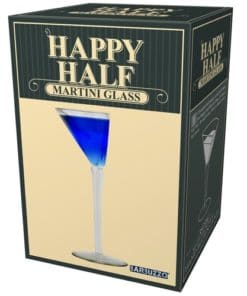 Half Martini Glass