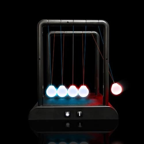Illuminating Newton's Cradle