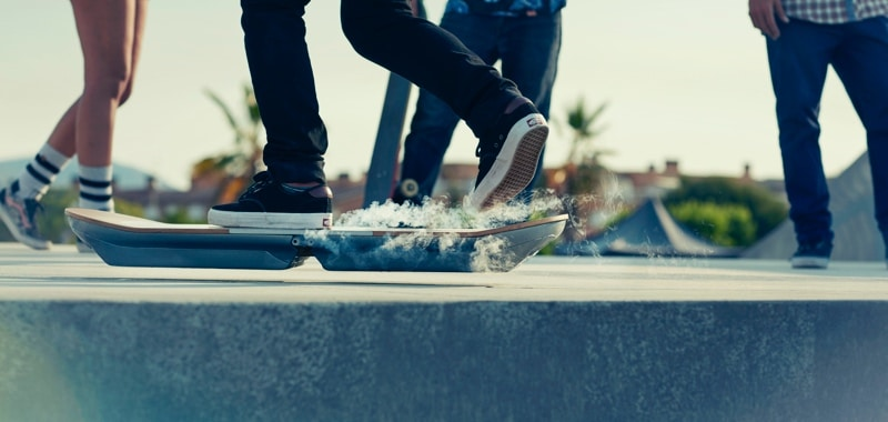 No More Teasing. Lexus Hoverboard Finally in Action!