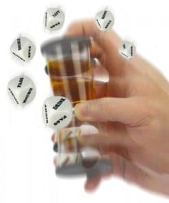 Loaded Dice Shot Glass