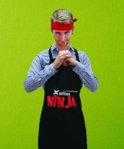 Ninja Apron and Headband Set