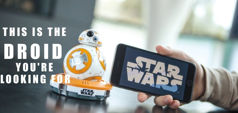 Sphero BB-8 might just be the Coolest Star Wars Toy Ever!