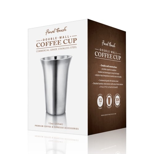 Double Wall Coffee Cup - 12oz