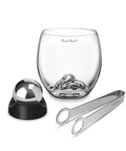 On The Rock Glass Stainless Steel Edition