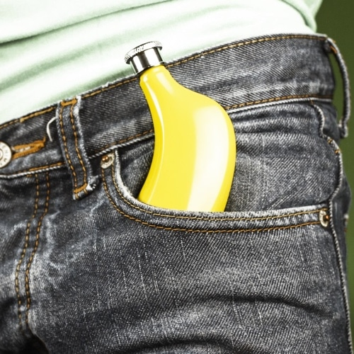 Banana Hip Flask