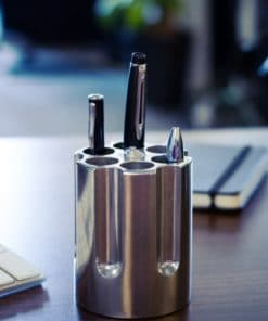 Gun Cylinder Pen Holder