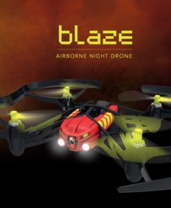 Parrot Airborne Night Minidrone – Blaze Red