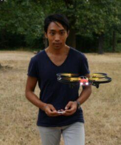 Parrot Airborne Night Minidrone – Blaze Red