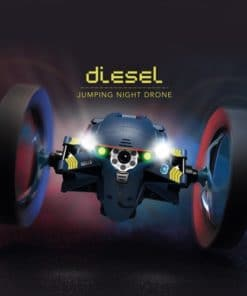 Parrot Jumping Night Minidrone – Diesel Blue