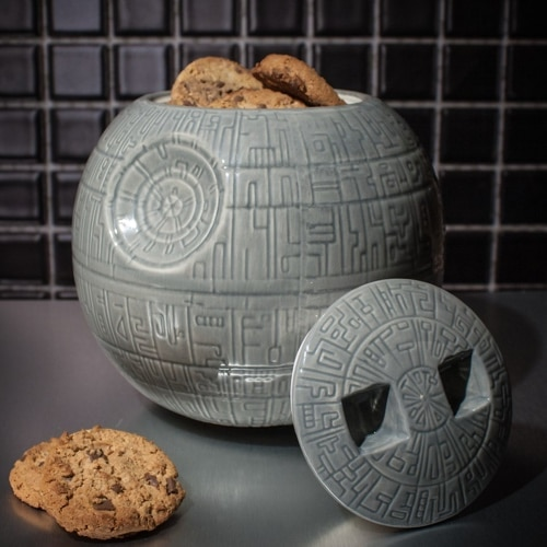 Star Wars Death Star Ceramic Cookie Jar Yuppie Gadgets