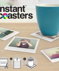 Instant Photo Coasters