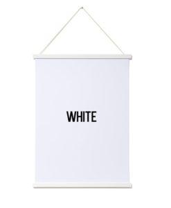 Magnetic Print Frame - White