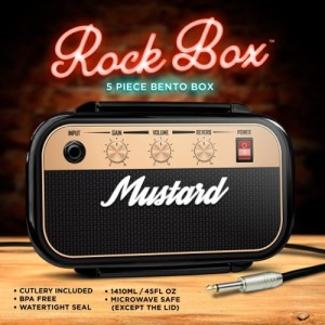 Rock Box Bento Lunch Box