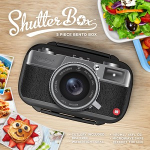Shutter Box Bento Lunch Box