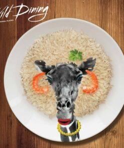 Wild Dining Dinner Plate - Giraffe