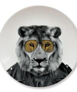 Wild Dining Dinner Plate - Lion