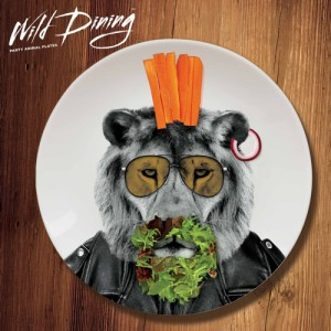 Wild Dining Dinner Plate – Lion