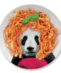 Wild Dining Dinner Plate - Panda