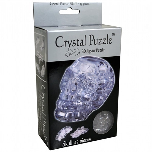 3D Skull Crystal Puzzle