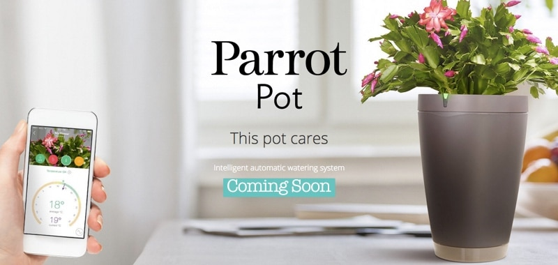 Parrot POT will give anyone a green thumb!