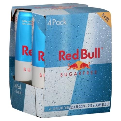 Red Bull Sugarfree 4 Pack