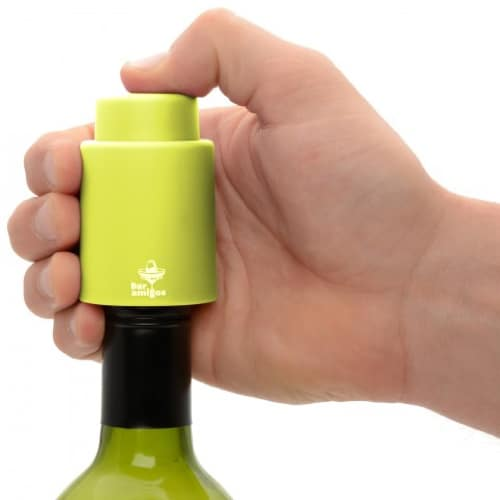 Bar Amigos Vacuum Wine Stopper – Lime