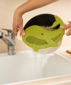 Plankton Pot Strainer - Avocado Green