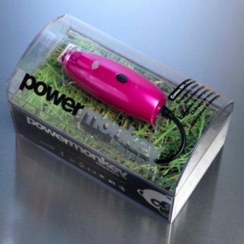 Powermonkey Classic Portable Power - Pink