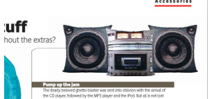 BoomBox Cushions Vodacom Now 2011