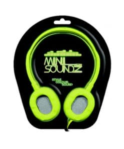 Mini Neon Soundz Headphones - Green