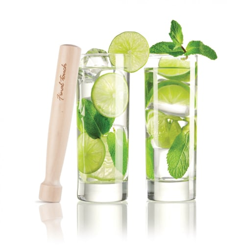 Mojito Glass and Muddler Set