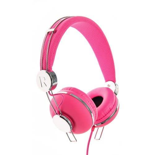 Neon Soundz Headphones – Pink