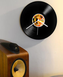 Record Collection Wall Clock - Party Time