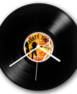 Record Collection Wall Clock - Party Time 4