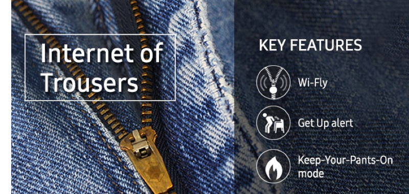 Internet of Trousers Fashion Range by Samsung – Coming Soon to Yuppie Gadgets