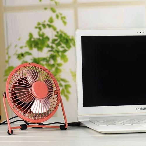 USB Desk Fan – Red