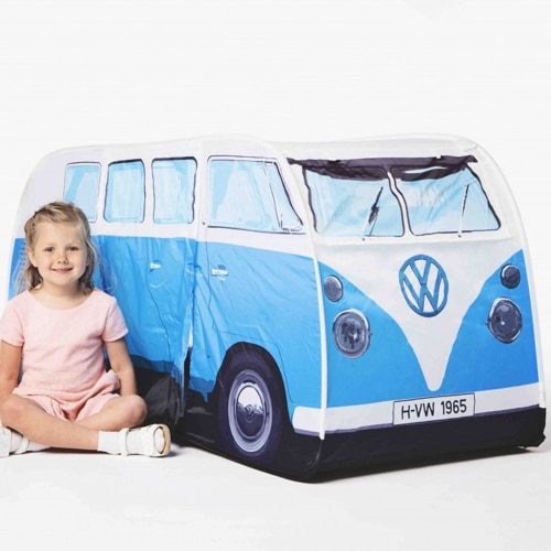VW Camper Van Kids Tent – Blue