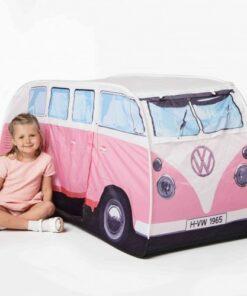 VW Camper Van Kids Tent - Pink