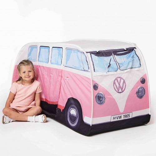 VW Camper Van Kids Tent – Pink