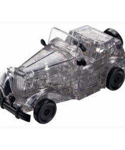 Vintage Car 3D Crystal Puzzle - Black