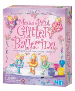Mould and Paint Glitter Ballerina Kit