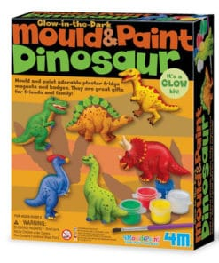 Mould and Paint Glow Dinosaur Kit