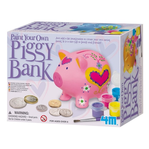 Other garden decor paint your own piggy bank kit 4505 for Make your own piggy bank