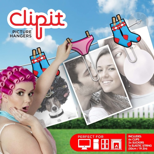 Clipit Picture Hangers – Laundry