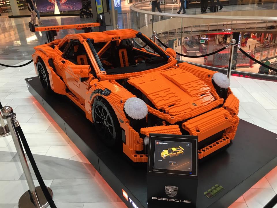 Full Sized Porsche 911 Gt3 Rs Lego Car Spotted In Sweden Yuppie