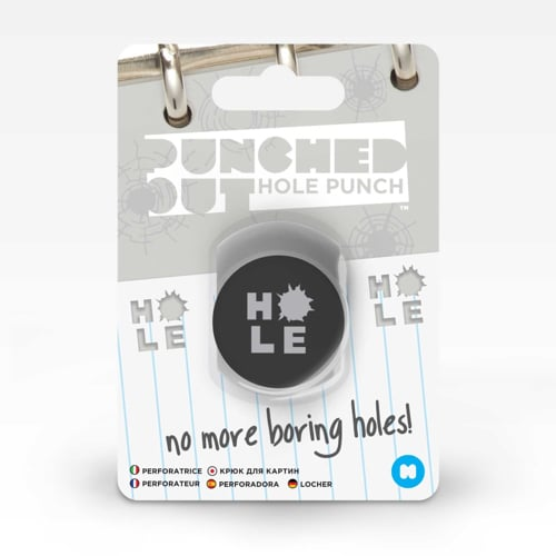 Punched Out Hole Punch