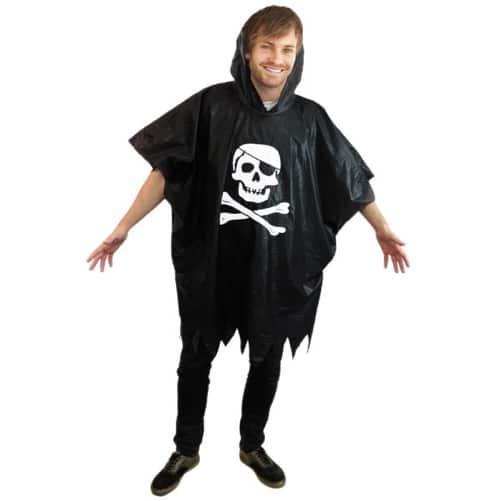 Pirate Rain Poncho