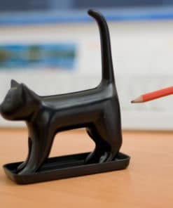 Sharp End Cat Pencil Sharpener - Black